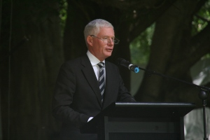 Attorney General the Honorable John Rau Minister for Tourism