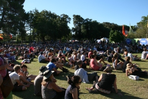 Audience at WOMAD