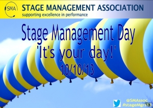 Stage Management Day Poster