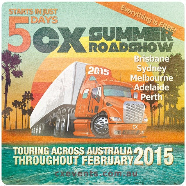cx roadshow 2015