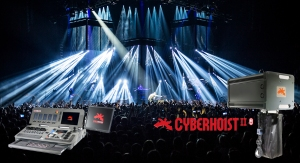 The CyberHoist II system brought a surprising new dynamic show for the European leg of Linkin Park's 'The Hunting Party' tour.