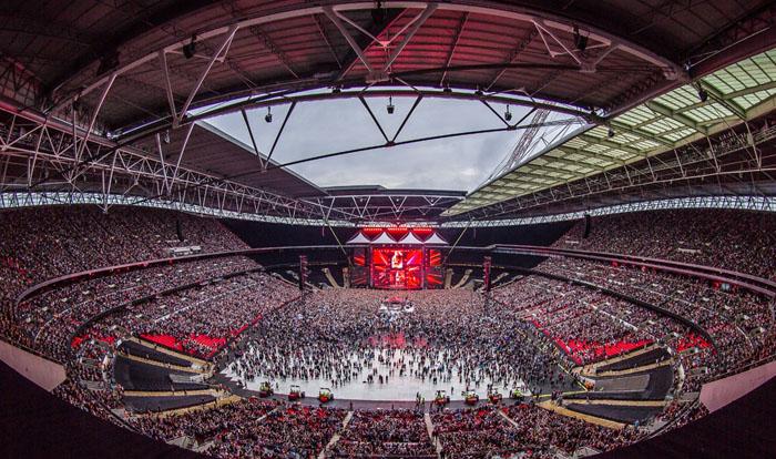 Ed Sheeran Wembley